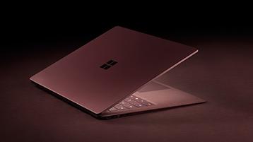 Surface Laptop vinröd