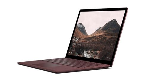 Surface Laptop med Alcantara®-tangentbord.