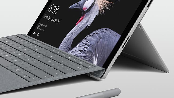 Surface Book med avtagbar skärm.