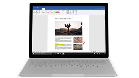 """Surface Book 2 med 13,5"""" PixelSense™-skärm och Intel® Core™ i7-8650U-processor med kraft från fyra kärnor för i7 13,5"""