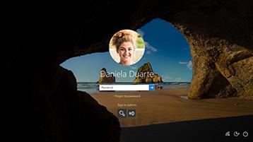 OneDrive-filer på begäran