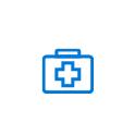 Ikon för hälso- och sjukvårdsbranschen
