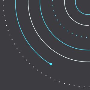 主視覺插圖,點與線段組成一圈圈的同心圓