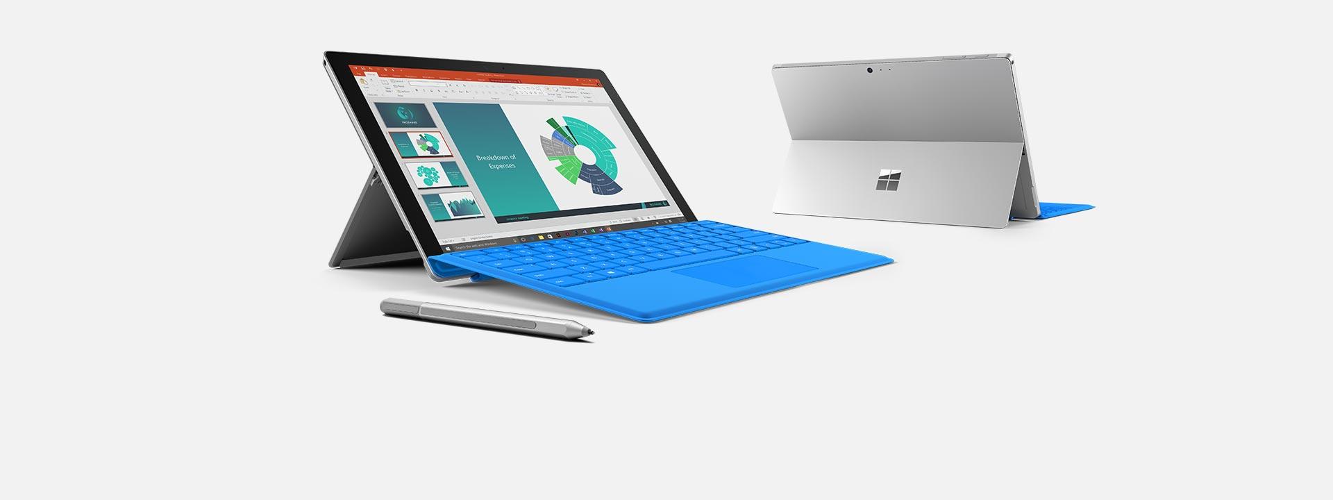 เรียนรู้เกี่ยวกับอุปกรณ์ Surface Pro 4
