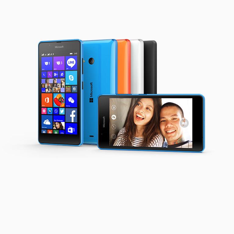 Chia sẻ nhiều hơn với Microsoft Lumia 540 Hai SIM.
