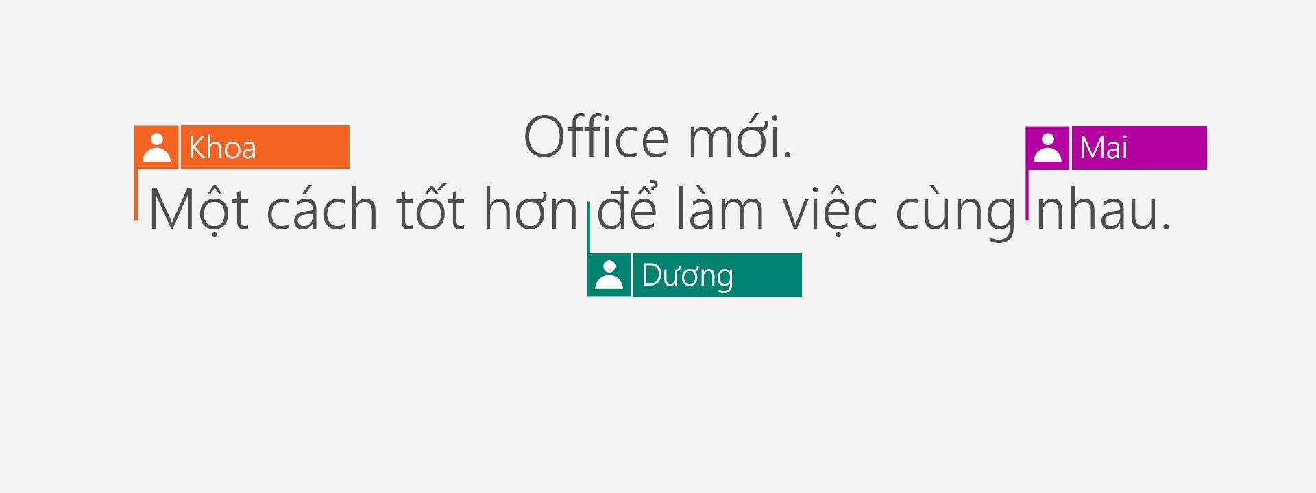 Mua Office 365 để nhận các ứng dụng mới năm 2016.