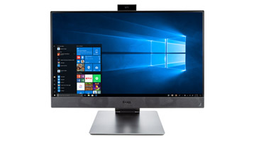 Windows 10 一体机设备。