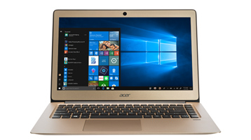 呈现 Windows 10 屏幕的笔记本电脑