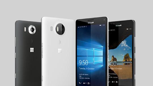 了解 Lumia 950 和 Lumia 950 XL。