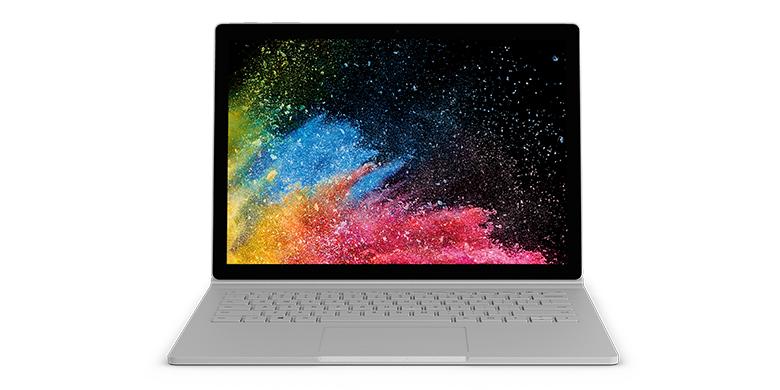 可拆卸显示屏的 Surface Book 2