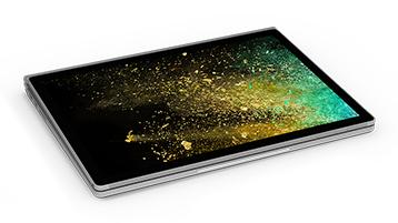 工作室模式的 Surface Book 2
