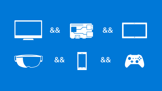 开始体验 Windows 10 开发人员工具。