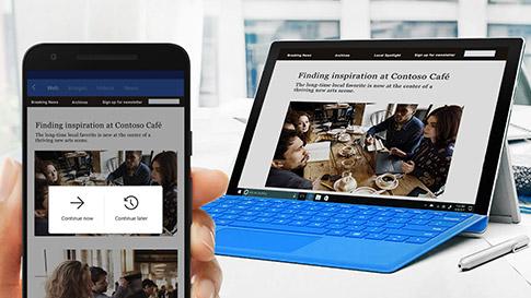 Cortana 移动应用