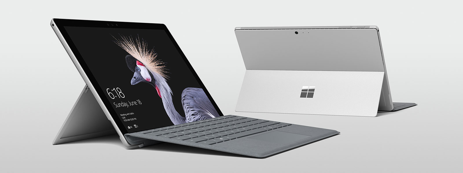 所有 Surface 设备的分组图像