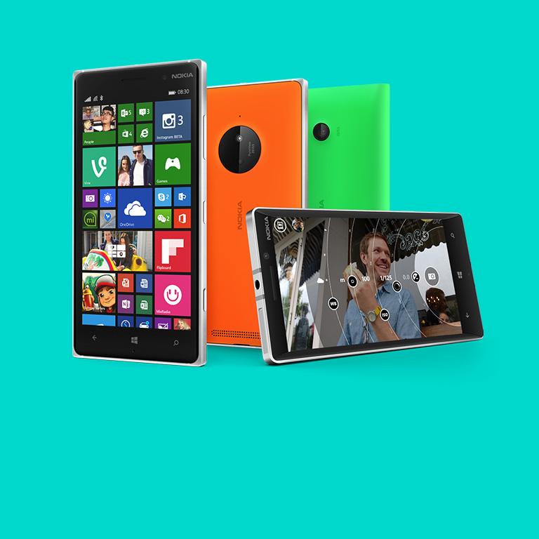 透過手機成就更多。瞭解更多有關 Lumia 裝置的資訊。