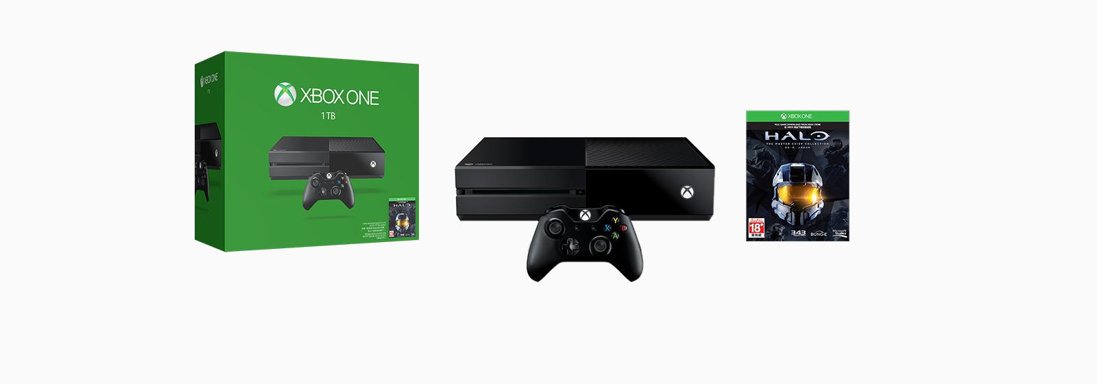 瞭解更多全新 1 TB Xbox One 主機。