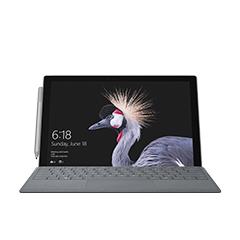 前方所見的 Surface Pro