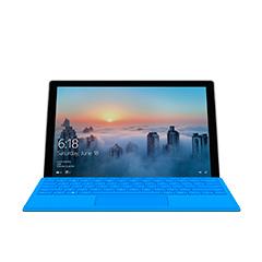 前方所見的 Surface Pro 4