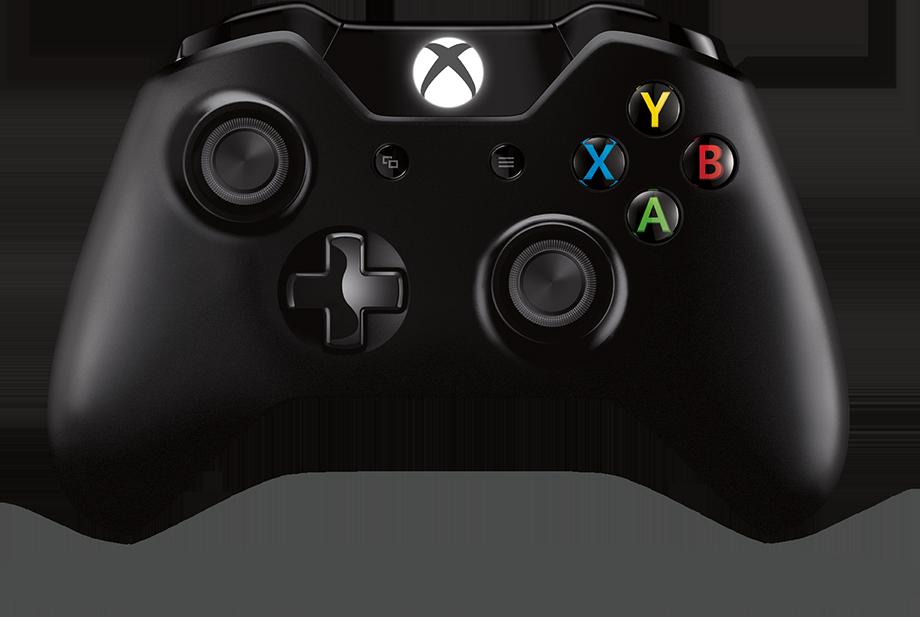 Xbox 控制器和多合一電腦螢幕上顯示 Xbox 遊戲